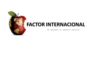 logo FACTOR INTERNACIONAL